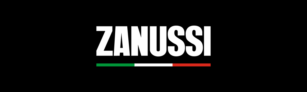 Zanussi Logo on black