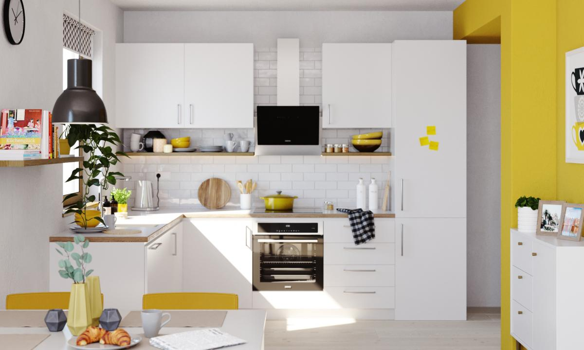The zanussi promise in the kitchen