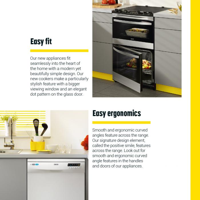 Accent yellow brochure example